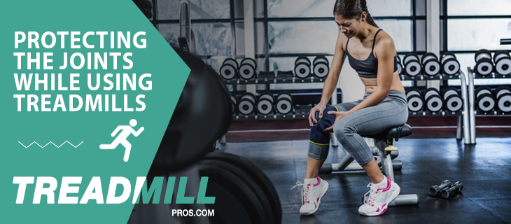 protecting joints treadmills